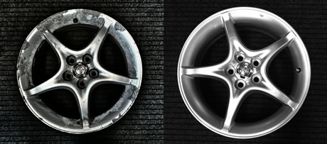 How Much To Refurbish Alloy Wheels >> Alloy Wheel Refurbishment Eastbourne Tyres